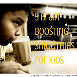 5 Brain Boosting Smoothies