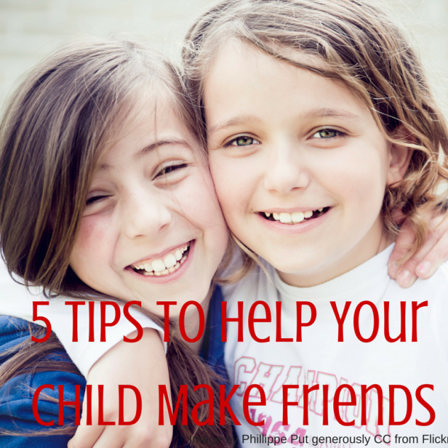 5 tips to help your child make friends