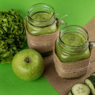 green vegetables for light sensitivity